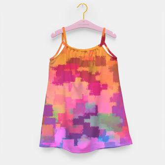 Miniatur Floral Abstract Girl's dress, Live Heroes