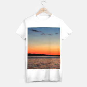 Thumbnail image of Sunset on Sea T-shirt regular, Live Heroes