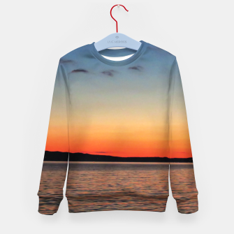 Thumbnail image of Sunset on Sea Kid's sweater, Live Heroes