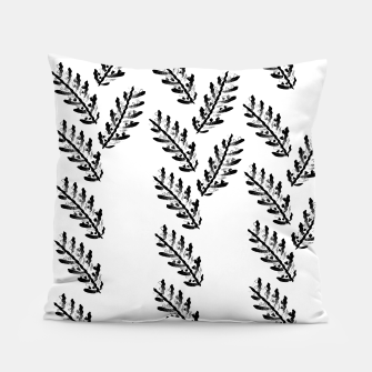 Thumbnail image of Black Twigs on White Pillow, Live Heroes