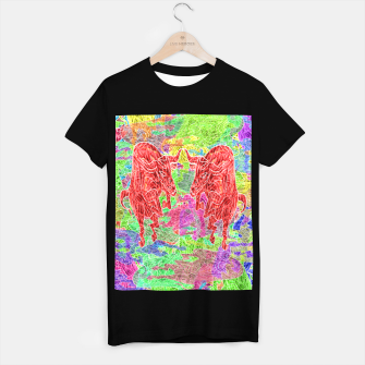 dancing bulls T-shirt regular thumbnail image