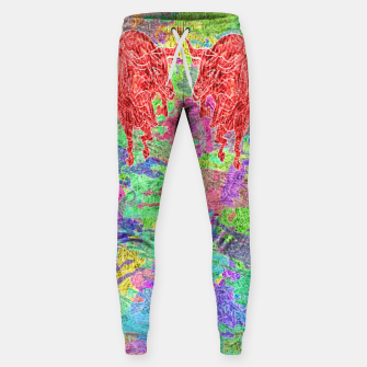 dancing bulls Cotton sweatpants thumbnail image