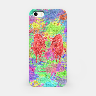 dancing bulls iPhone Case thumbnail image
