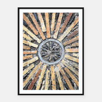 Thumbnail image of Stone Circle Framed poster, Live Heroes