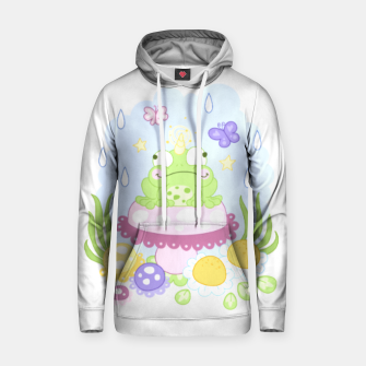Miniatur The Majestic Magical Horn Toad Cotton hoodie, Live Heroes