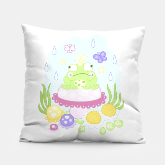 Thumbnail image of The Majestic Magical Horn Toad Pillow, Live Heroes
