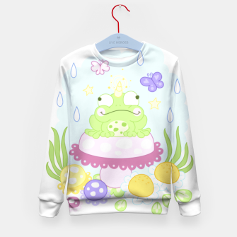 Thumbnail image of The Majestic Magical Horn Toad Kid's sweater, Live Heroes