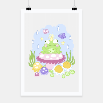 Miniatur The Majestic Magical Horn Toad Poster, Live Heroes