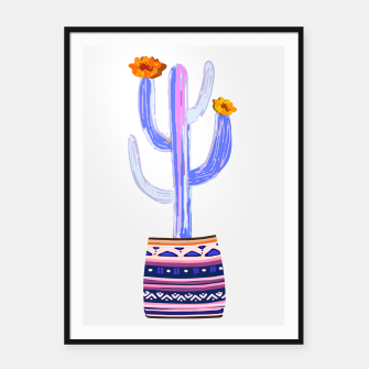 Thumbnail image of cacti Love Framed poster, Live Heroes
