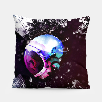 Thumbnail image of Space Skull Pillow, Live Heroes