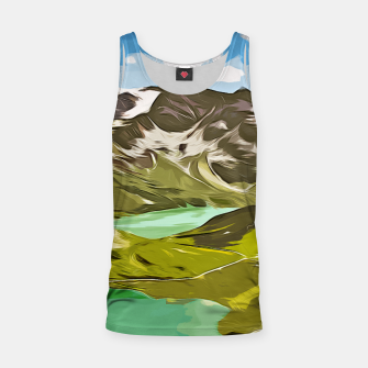 Thumbnail image of gxp alpin aussicht berge mountain view vector art Muskelshirt , Live Heroes