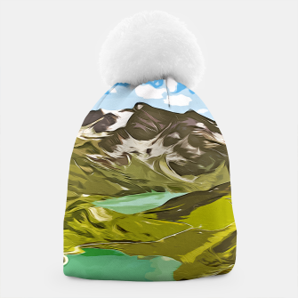 Thumbnail image of gxp alpin aussicht berge mountain view vector art Mütze, Live Heroes