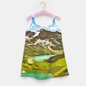 Thumbnail image of gxp alpin aussicht berge mountain view vector art Mädchenkleid, Live Heroes