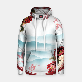 Thumbnail image of Japanese Scenery Cotton hoodie, Live Heroes