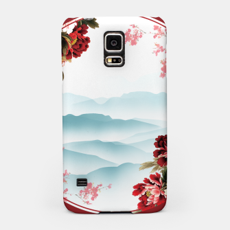 Miniatur Japanese Scenery Samsung Case, Live Heroes