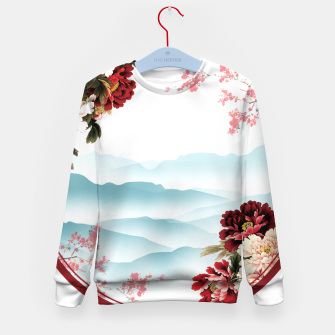 Thumbnail image of Japanese Scenery Kid's sweater, Live Heroes