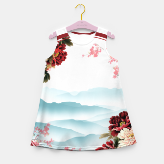 Japanese Scenery Girl's summer dress imagen en miniatura