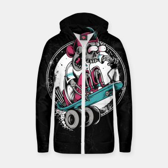 Dragboarder Cotton zip up hoodie Bild der Miniatur