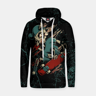 Thumbnail image of Skateboarder Cotton hoodie, Live Heroes