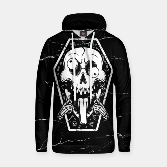 Thumbnail image of Put Tongue Out Cotton hoodie, Live Heroes
