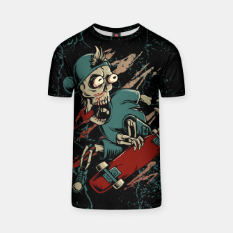 Thumbnail image of Skateboarder T-shirt, Live Heroes