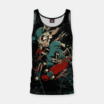 Thumbnail image of Skateboarder Tank Top, Live Heroes