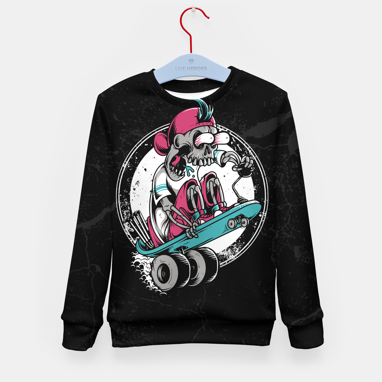 Foto Dragboarder Kid's sweater - Live Heroes