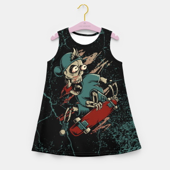 Miniature de image de Skateboarder Girl's summer dress, Live Heroes
