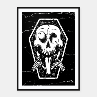 Thumbnail image of Put Tongue Out Framed poster, Live Heroes