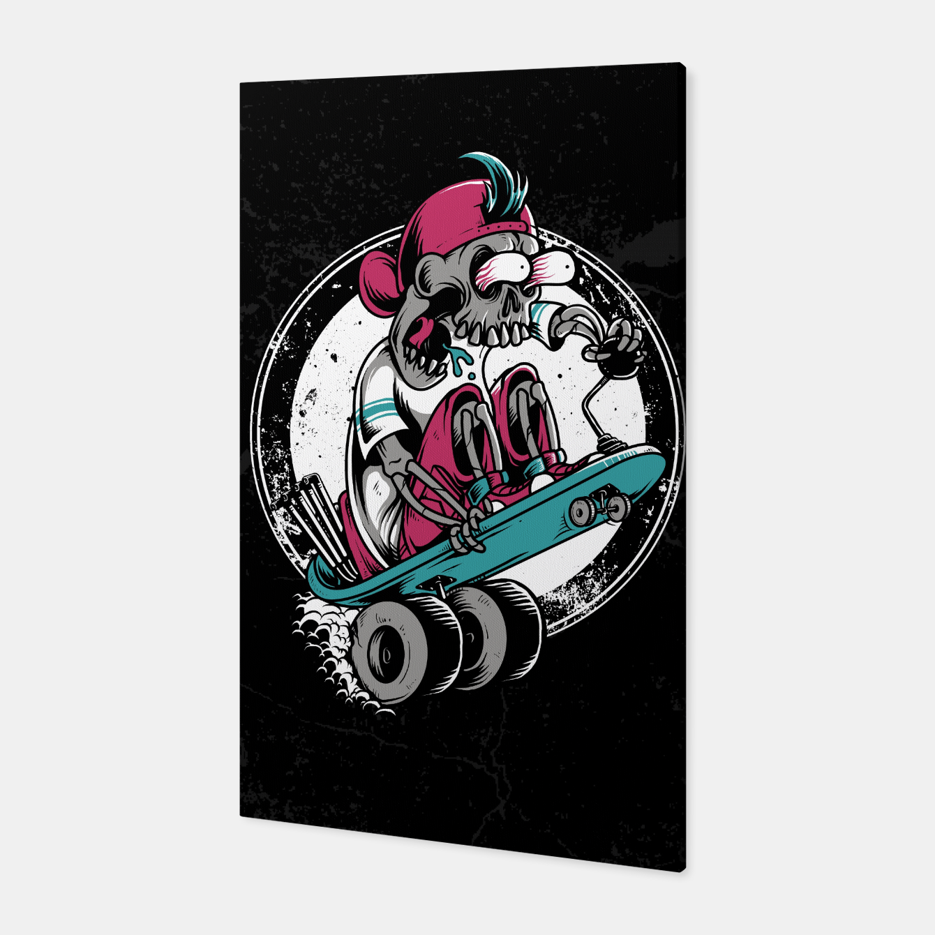 Foto Dragboarder Canvas - Live Heroes