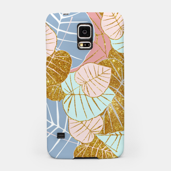 Thumbnail image of Floral Gold Samsung Case, Live Heroes
