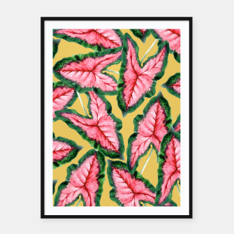 Thumbnail image of Caladium Framed poster, Live Heroes