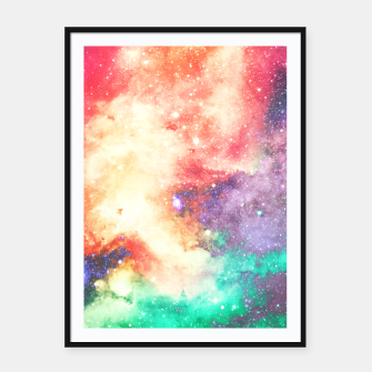 Thumbnail image of Personal Space Framed poster, Live Heroes