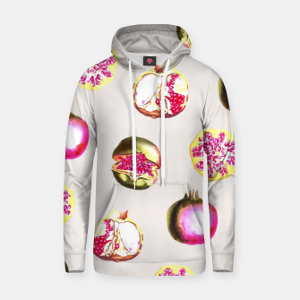 Thumbnail image of Pom Zest Cotton hoodie, Live Heroes