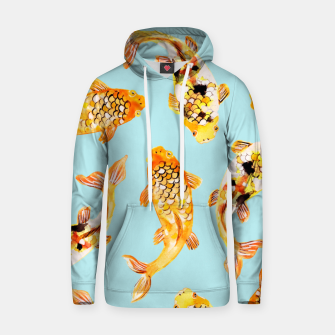 Thumbnail image of Goldfish Cotton hoodie, Live Heroes