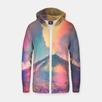 Miniature de image de Arenal Cotton zip up hoodie, Live Heroes
