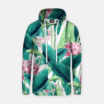 Miniatur Lovely Botanical Cotton hoodie, Live Heroes