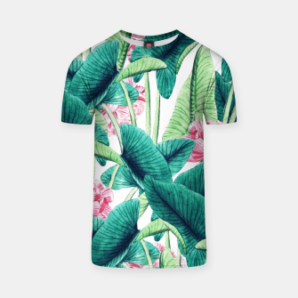 Thumbnail image of Lovely Botanical T-shirt, Live Heroes