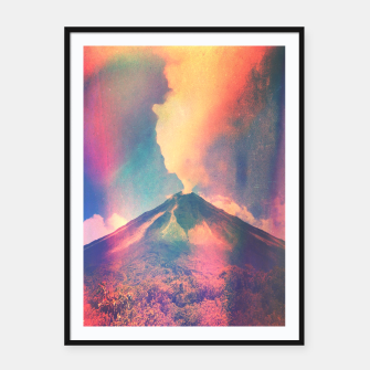 Thumbnail image of Arenal Framed poster, Live Heroes