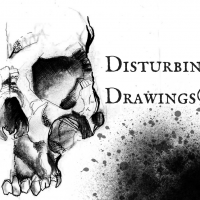 Disturbing Drawings logo, Live Heroes