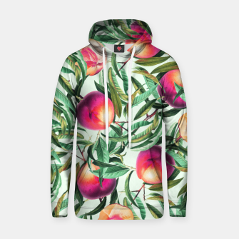 Thumbnail image of Sweet Peaches Cotton hoodie, Live Heroes