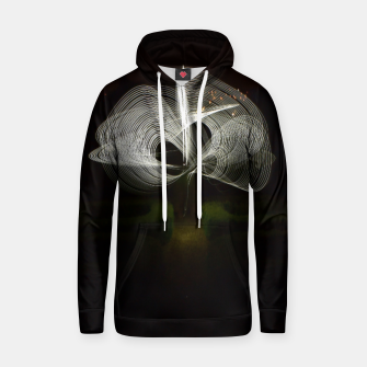 Thumbnail image of light  painting 2 Cotton hoodie, Live Heroes