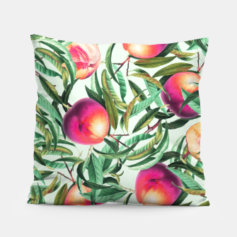 Thumbnail image of Sweet Peaches Pillow, Live Heroes