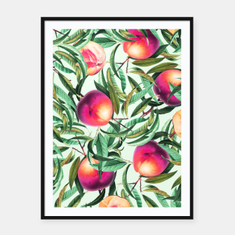 Thumbnail image of Sweet Peaches Framed poster, Live Heroes