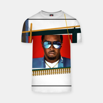 Thumbnail image of Sean Combs (P. Diddy) T-shirt, Live Heroes