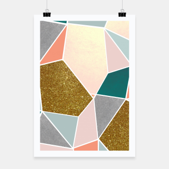 Thumbnail image of Geometric Poster, Live Heroes