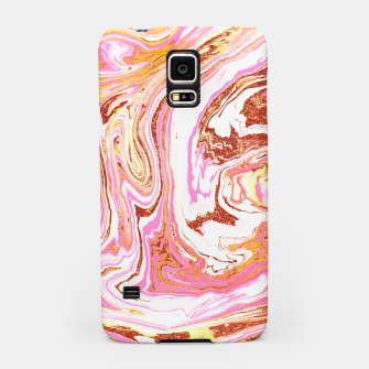 Thumbnail image of Marble + Rose Gold Dust Samsung Case, Live Heroes