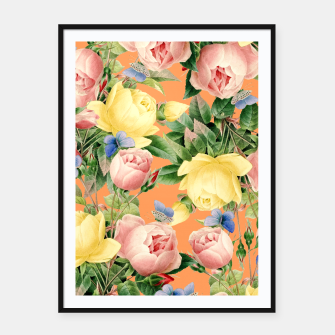 Thumbnail image of Flora Framed poster, Live Heroes