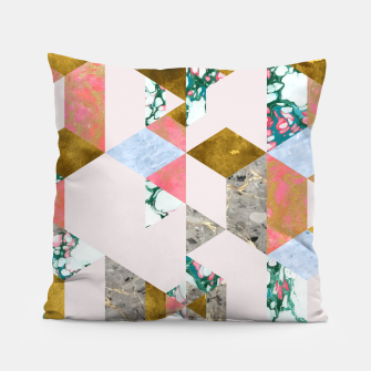 Thumbnail image of Geometry of Love Pillow, Live Heroes