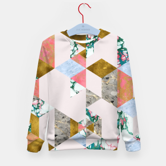 Thumbnail image of Geometry of Love Kid's sweater, Live Heroes